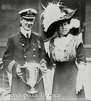Molly Brown and Captain Rostron