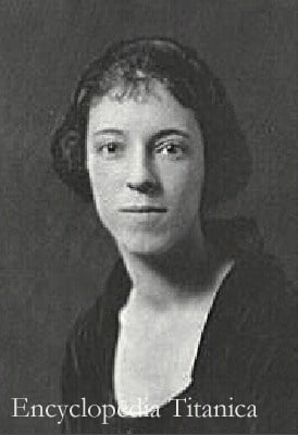 Edith Rosenbaum Russell from a portrait by Arnold Genthe
