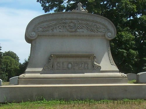 Sloper Family Plot Monument