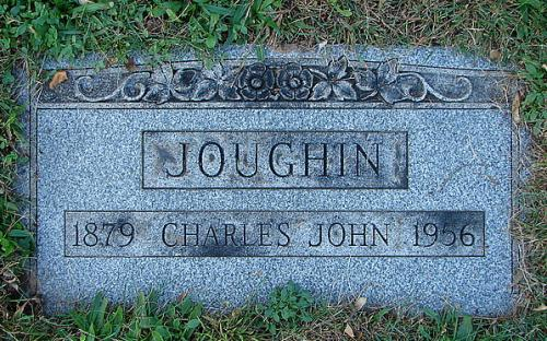Charles Joughin's grave