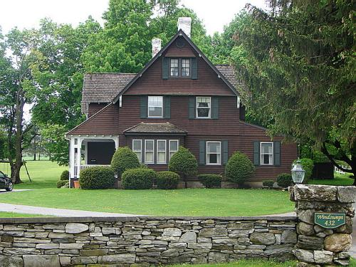 1912 Home of Charles Cresson Jones, Bennington, Vermont