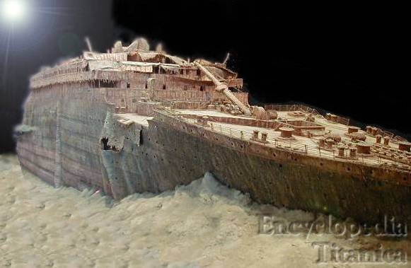 Titanic Wreck Model