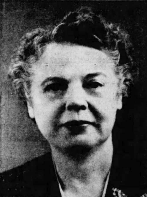 Sylvia Caldwell in the 1940s