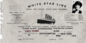Titanic Ticket