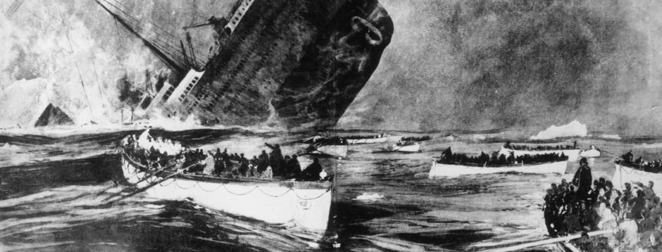 What did the Survivors See of the Break-up of the Titanic?