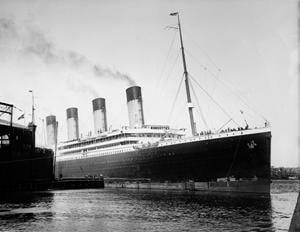 RMS Olympic White Star Line