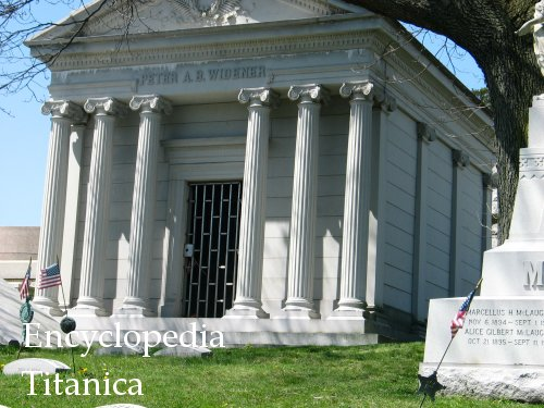 Widener mausoleum